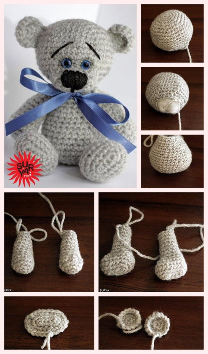 How To Make A Cute Crocheted Amigurumi Koala Charm - DIY Crafts ... | 1200x705
