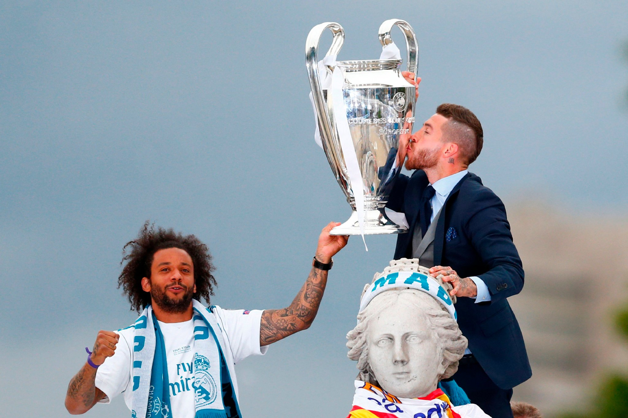 �� Great scenes during Madrid's homecoming celebrations today! ������  #UCLfinal #UCL https://t.co/uLxbnwX7WJ