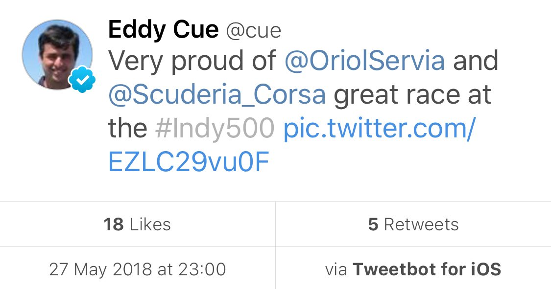 Even Eddy Cue has given up on the official Twitter app. <br>http://pic.twitter.com/R1Ga1dLMEX