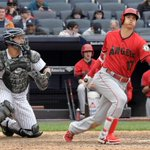 Image for the Tweet beginning: Angels' Shohei Ohtani comes up