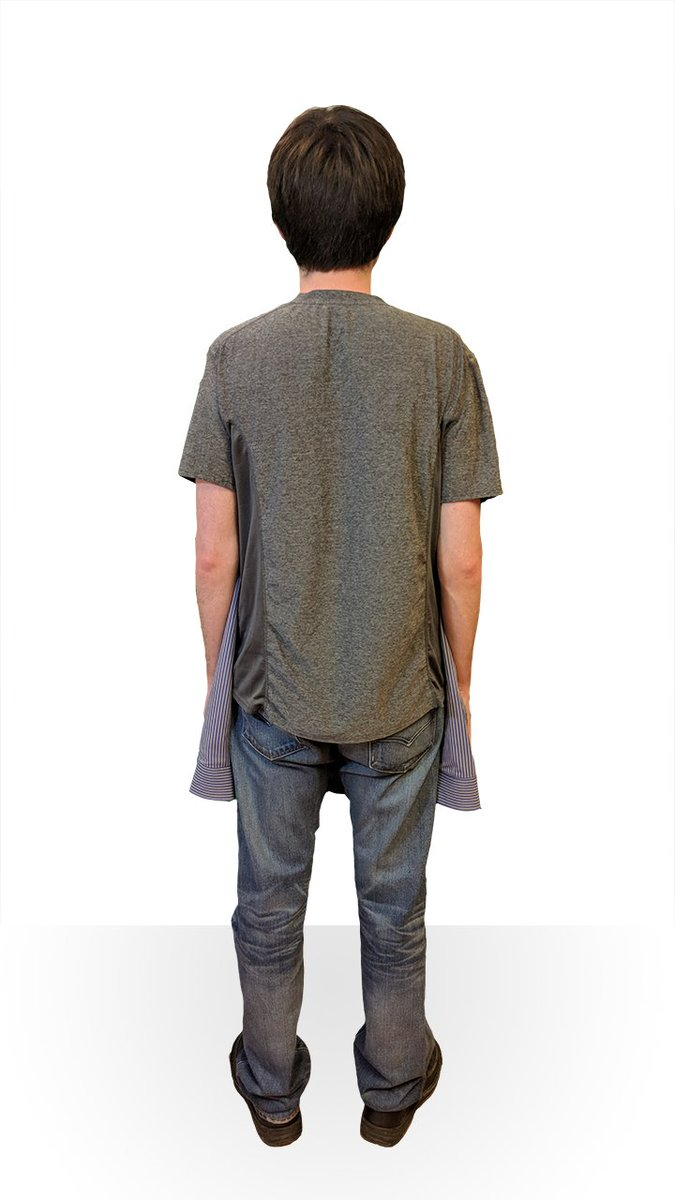 2241ee3b Holy shirt: Balenciaga is selling a 'T-shirt shirt' for $1,290 ...
