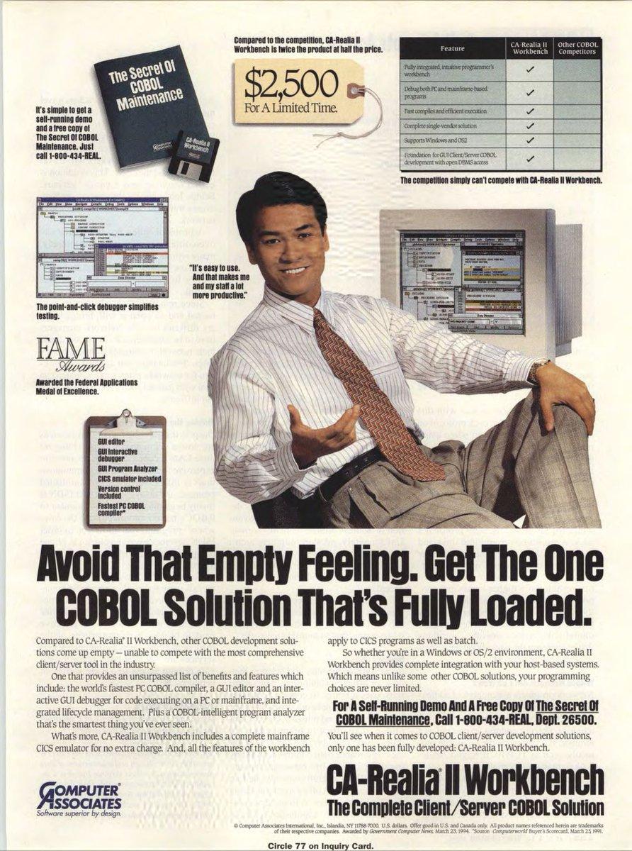 Vintage PC Ads on Twitter: