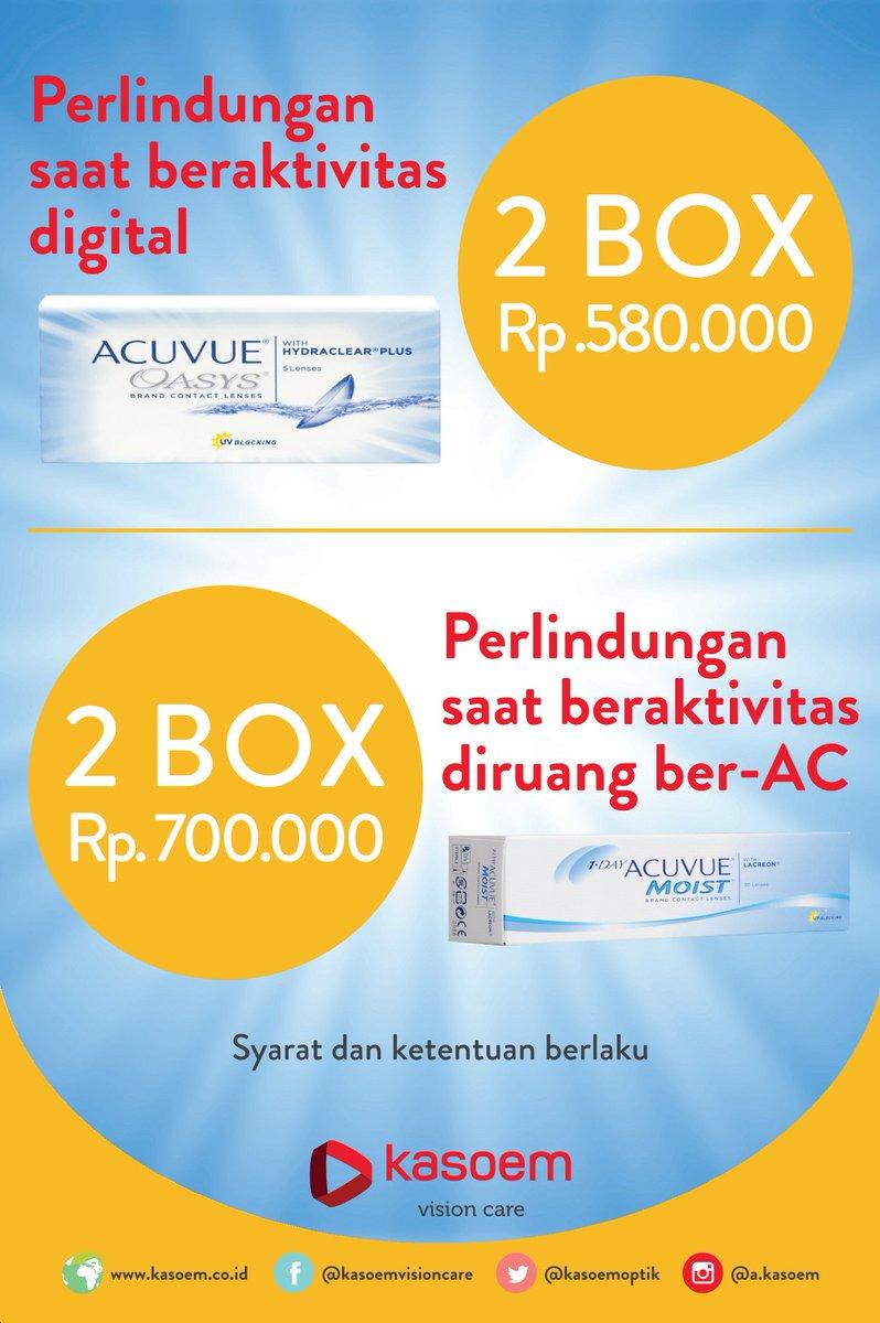 Promo lensa kontak di Kasoem Vision Care cabang Citimall Sukabumi  - 2 Box  Acuvue Oasys b86efbf77f