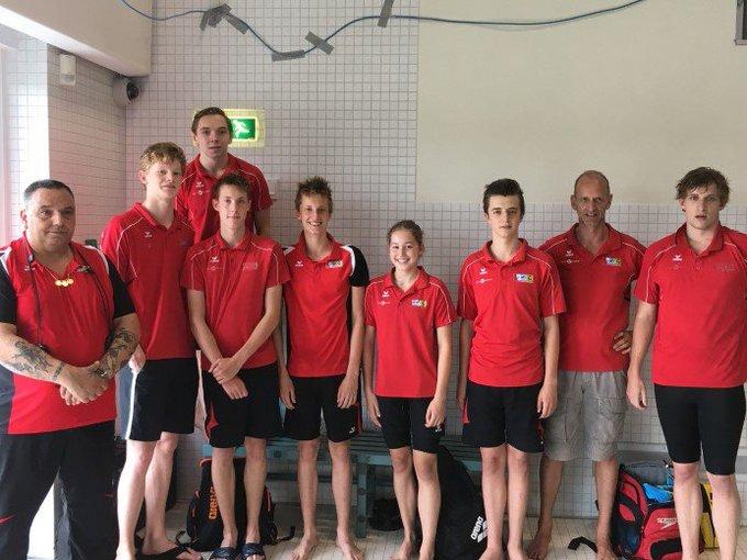 Goud voor zwemmers Babette van der Kaaij en Niels Dijkshoorn https://t.co/N4OnwmmhbW https://t.co/hAqz82nqSO