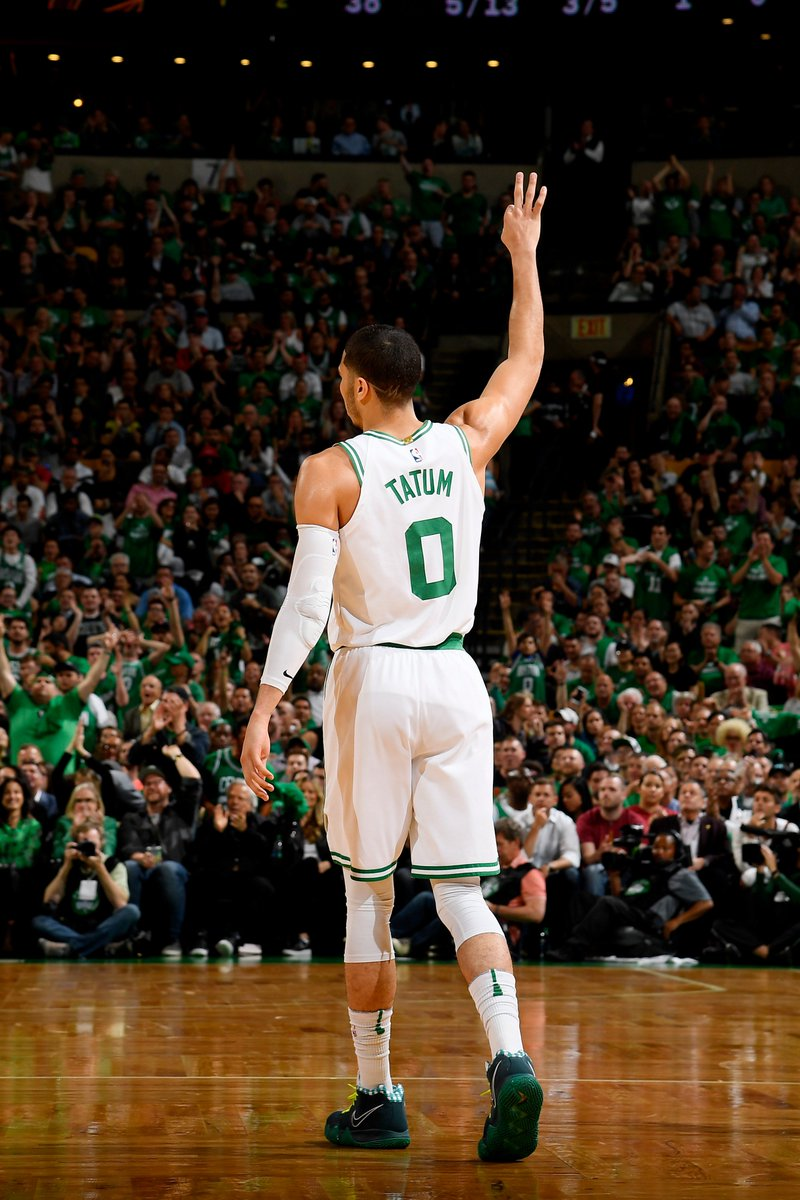 Certified superstar at just 20 years old. Shout out to Jayson Tatum on an amazing rookie season.