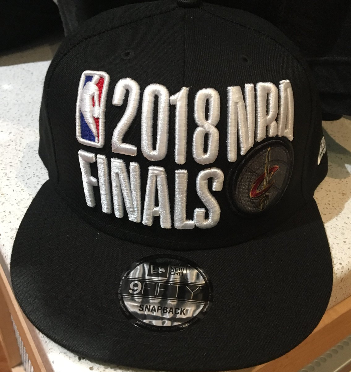 A look at your official Cavs Eastern Conference Championship hat.  Cavs pic.twitter.com XqTpLz2DW1 e231cd622