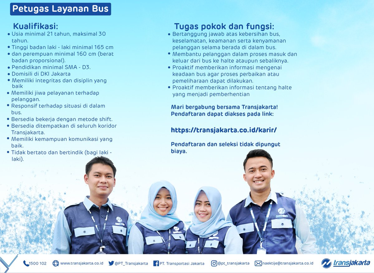 Transportasi Jakarta On Twitter Untuk Lamaran Silakan