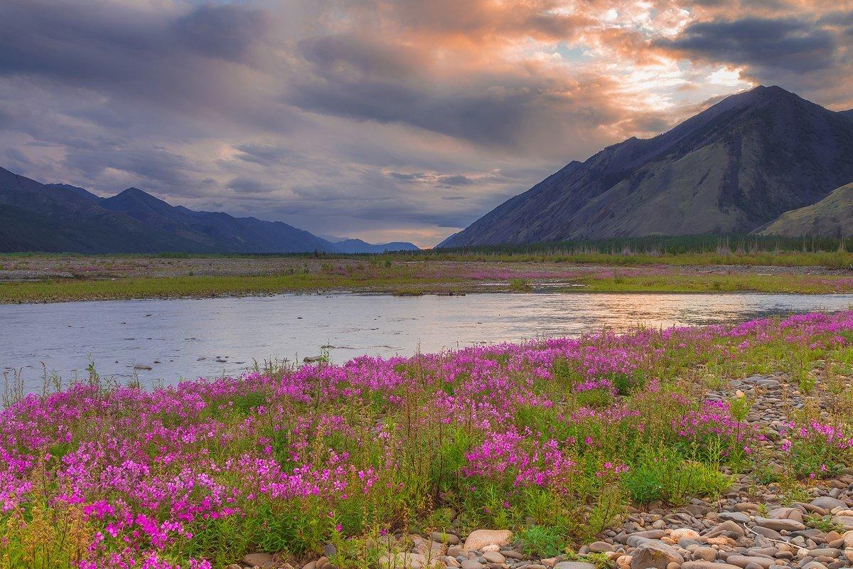 картинки о якутской природе городе занимает