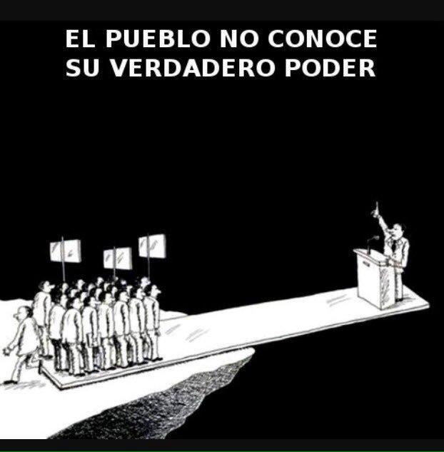 """ankorinclan on Twitter: """"El poder de un pueblo… """""""