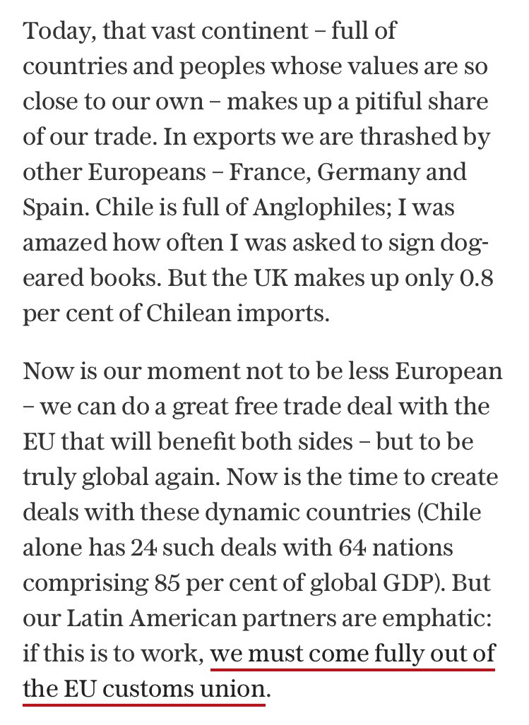 Sam Lowe On Twitter Today In Brexit Means Free Trade Agreements