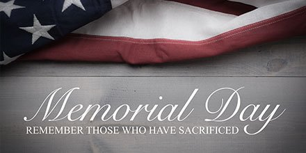 We will always be grateful for the soldiers who sacrificed their lives for our freedom.