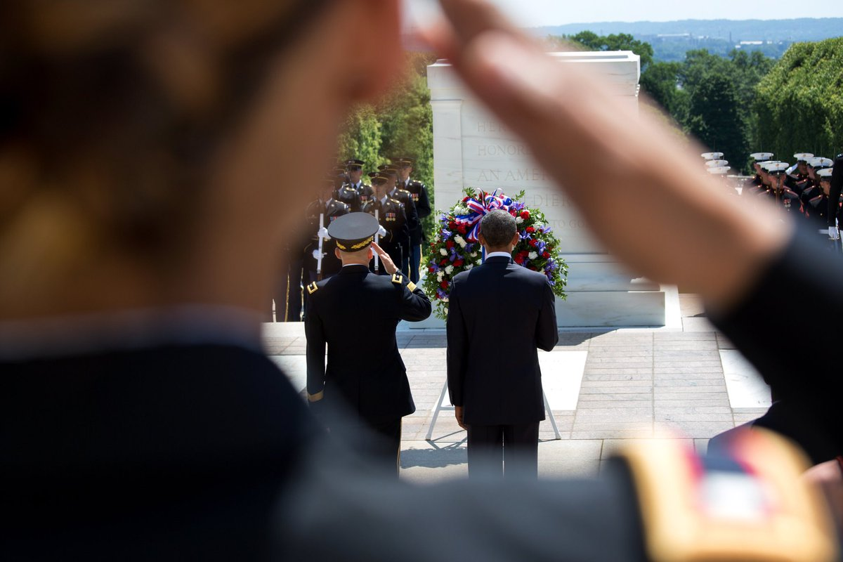 We can never truly repay the debt we owe our fallen heroes. But we can remember them, honor their sacrifice, and affirm in our own lives those enduring ideals of justice, equality, and opportunity for which generations of Americans have given that last full measure of devotion.