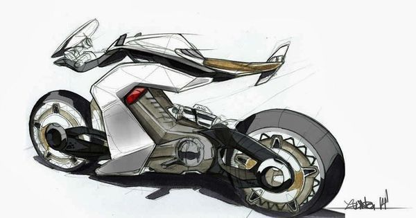 Car Design Pics On Twitter Ducati Electric Sportbike Concept