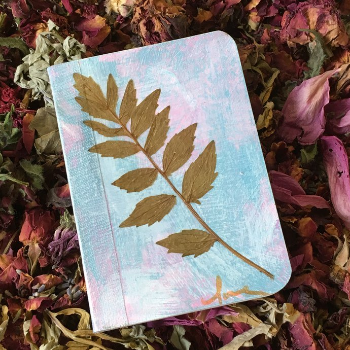 """You'll """"Rest Easy"""" after sharing your thoughts & dreams in this little one of a kind writing journal... http://ow.ly/URvB30kdbPz #herbal #writing #journal #write #Zibbet #madeinCT #Connecticut #WhitingMills #Winsted #CT #NWCT #LitchfieldCounty #NorthwestCT"""