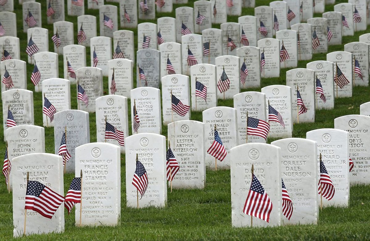 Today we honor the Americans who sacrificed everything to secure the blessings of liberty. Family and friends to some, heroes to all - who lived, fought and died for the safety and future of a great and good nation. God bless them and grant them perpetual peace. #MemorialDay