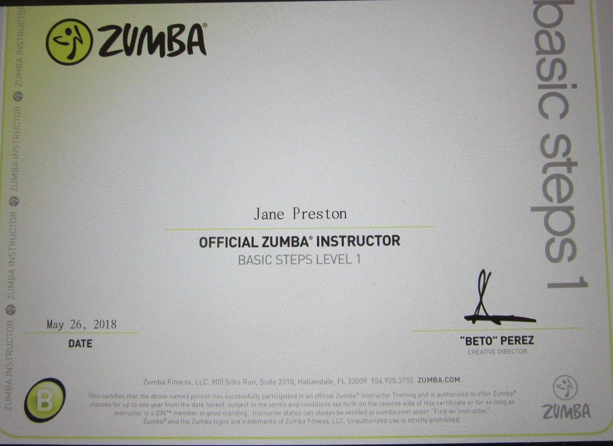 Jane P Preston On Twitter Believe It Or Not I Am Now A Certified