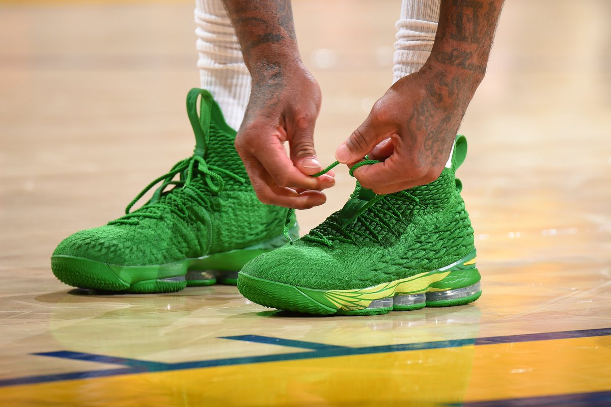 8fc6f12c34a9 four horsemen and oregon nike lebron 15s and power is female kyrie 4s top  an incredible