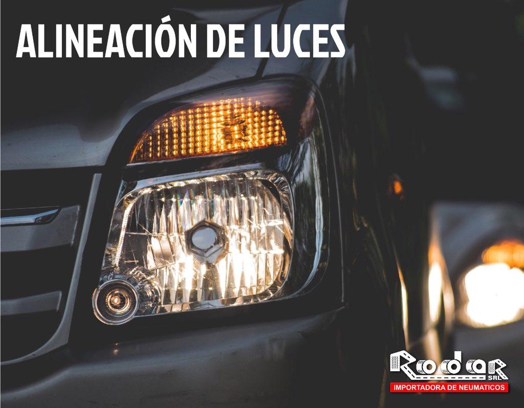 Servicio de alineacion de luces