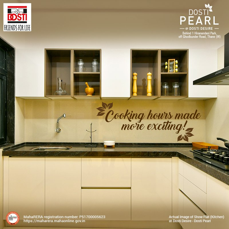 Dosti Realty On Twitter Dostidesire Has Got All The Kitchen