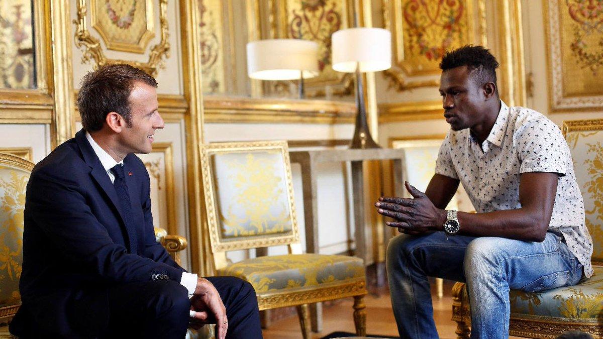 Hombre araña en Francia | Macron recibió al héroe que trepó para salvar a un niño