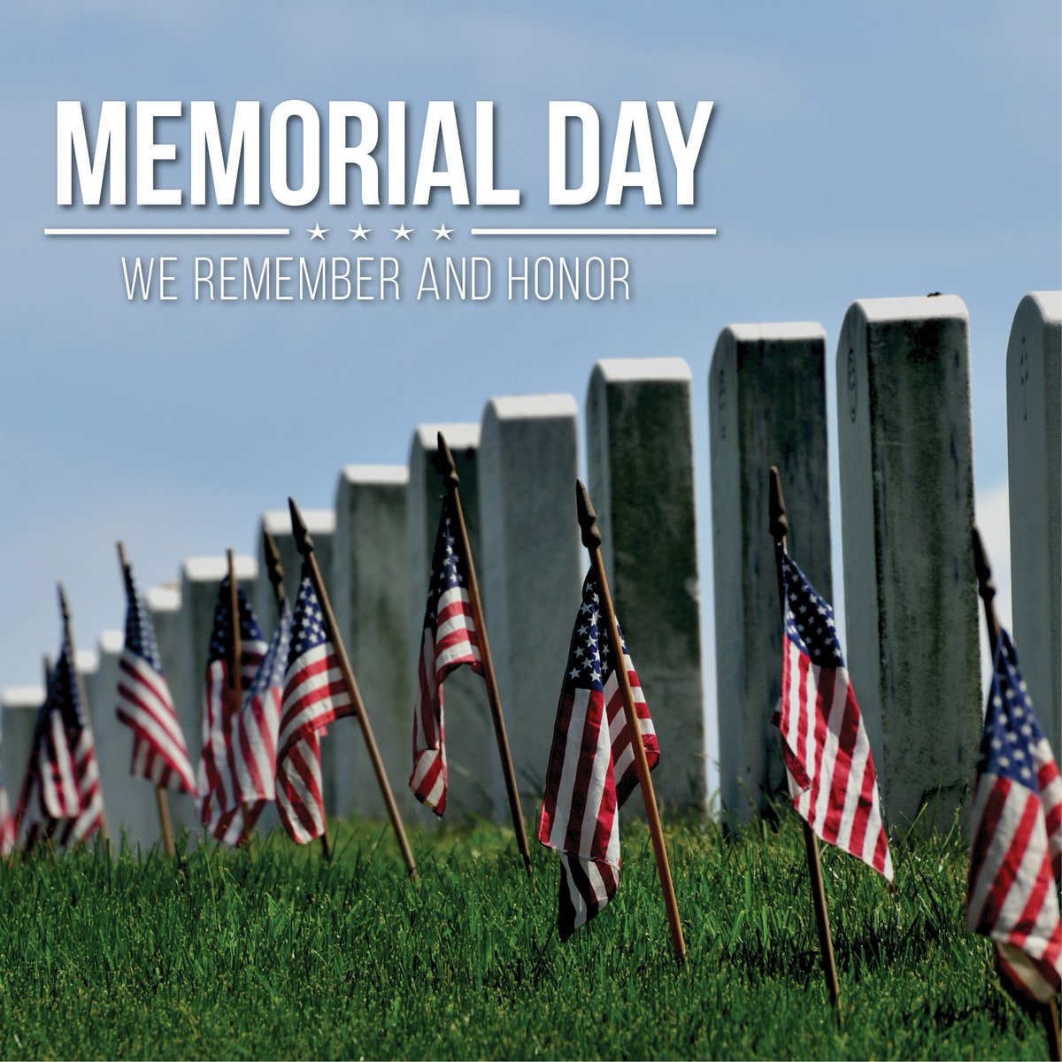 Today, we remember those who have given their life in service to this country. #MemorialDay2018