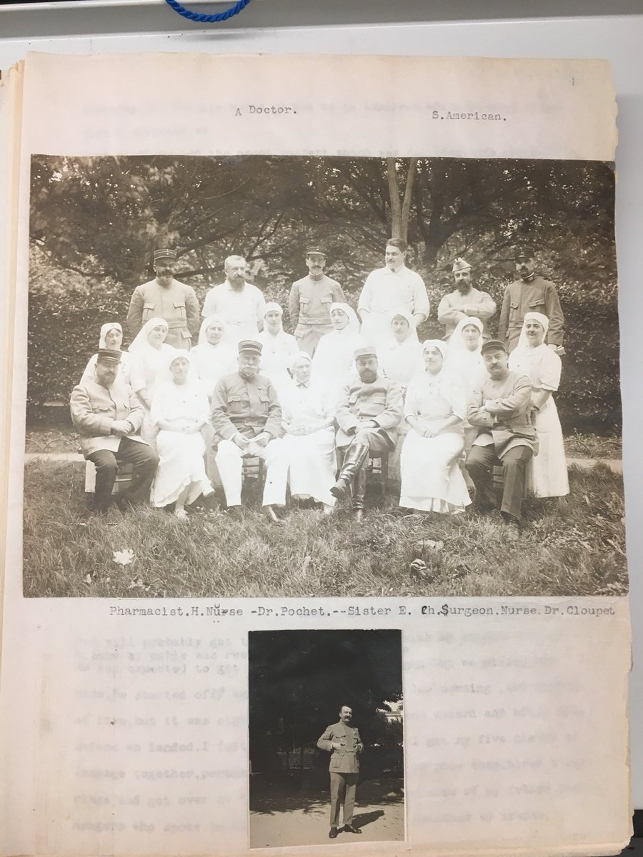 Today we remember those who served. Here are some images from our archives, taken by Eleanor Kilham when she took a leave of absence from Wheaton to serve in a French infirmary during WWI. https://t.co/bVmJFmRho8