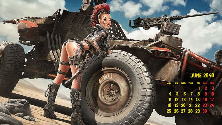Crossout On Twitter Crossout Calendar June You Can Download The