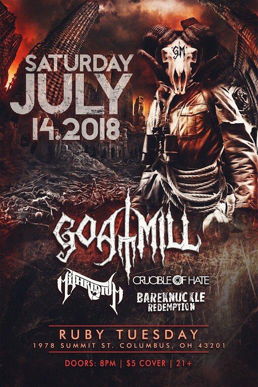 Heavy Metal July is coming... #asseenincolumbus #columbusohio #columbusmetal pic.twitter.com/BAtN3eGKF5