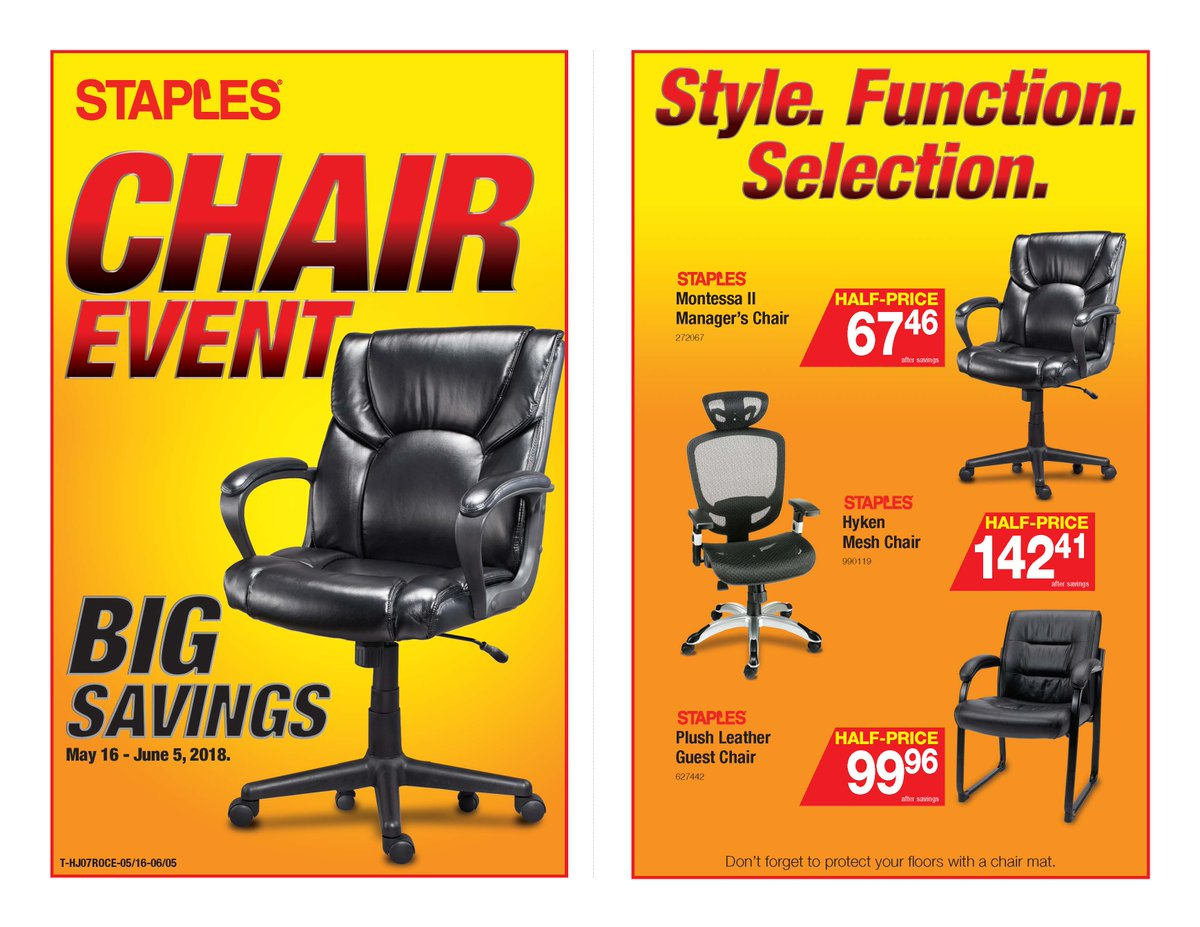 0 replies 0 retweets 0 likes  sc 1 st  Twitter : staples big chair event - Cheerinfomania.Com