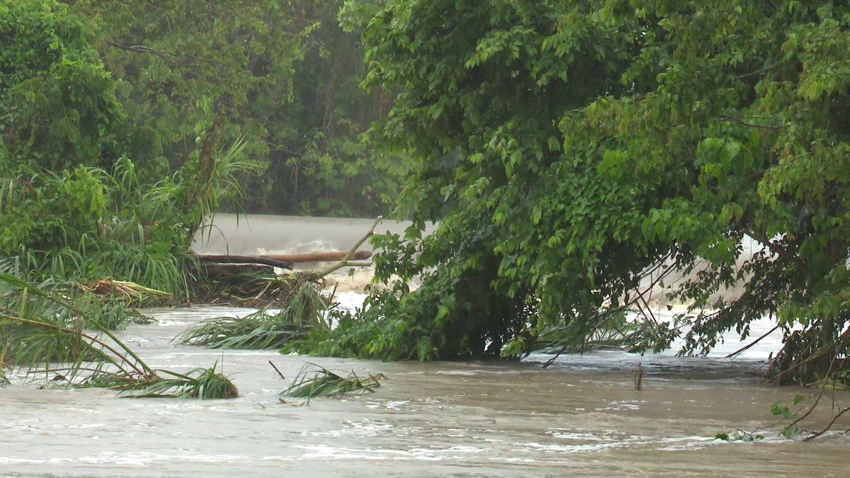 Inundaciones en varias zonas de Matanzas