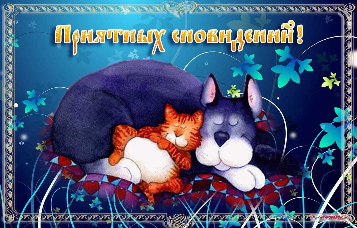Открытки доброй ночи добрых снов, день рождение