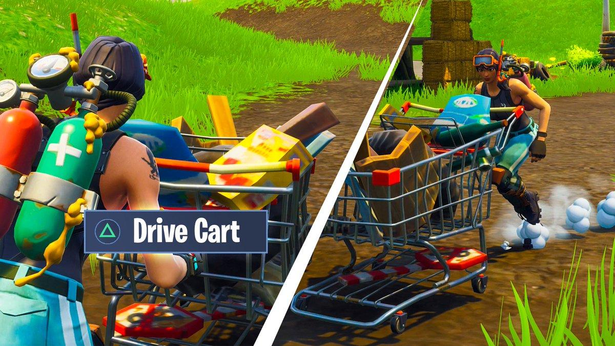 tmartnverified account - shopping cart on fortnite