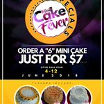Don't miss out. 00263773799023 #Mini_Cake_Fever