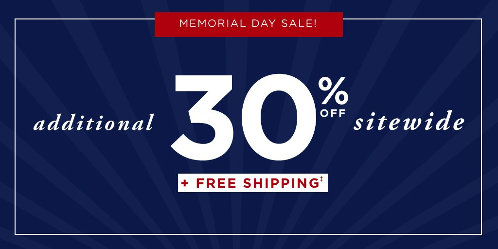 Get 30% off EVERYTHING on haggar.com during our Memorial Day Sale!