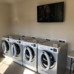 Image for the Tweet beginning: On-Site Laundry Room with commercial
