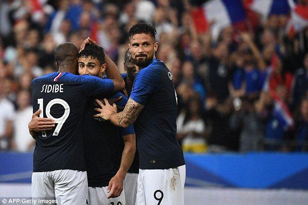 Video: Pháp vs Cộng hòa Ailen