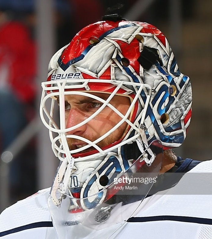 Tendy Gear On Twitter Braden Holtby Washington Capitals Bauer Mask Painted By Daveartofficial Maskmonday