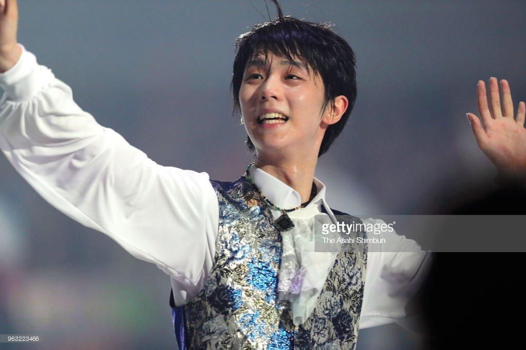 fantasy on ice 2018 in makuhari yuzuru hanyu