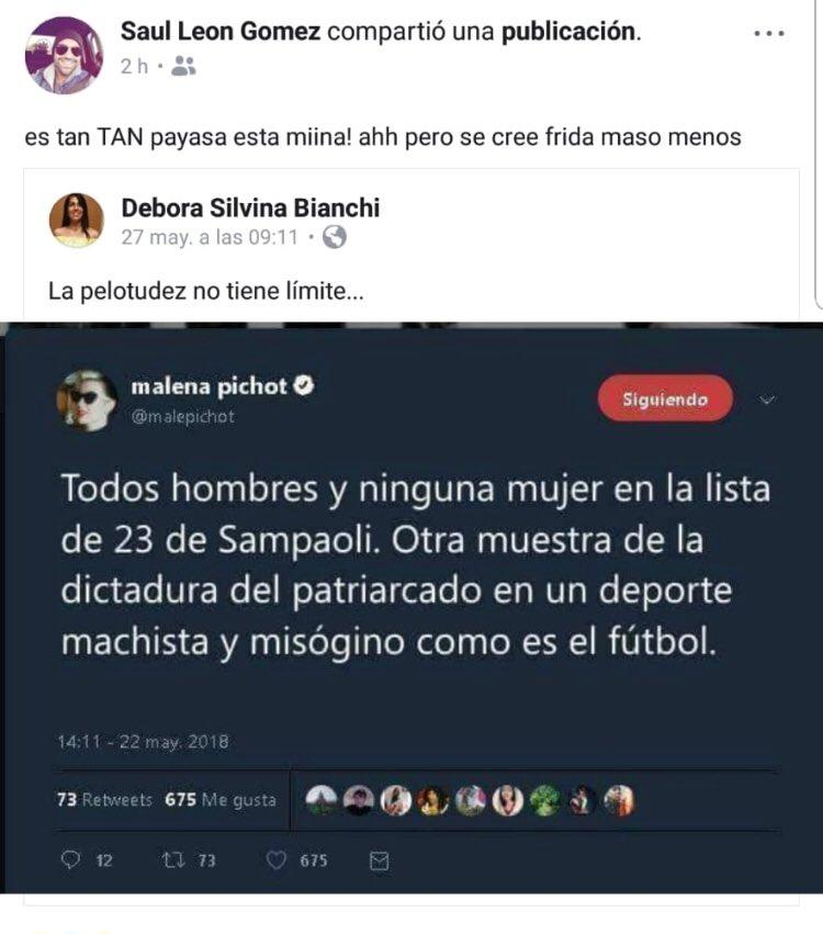 Malena Pichot On Twitter Me Entero Que Hacen Tuits Falsos
