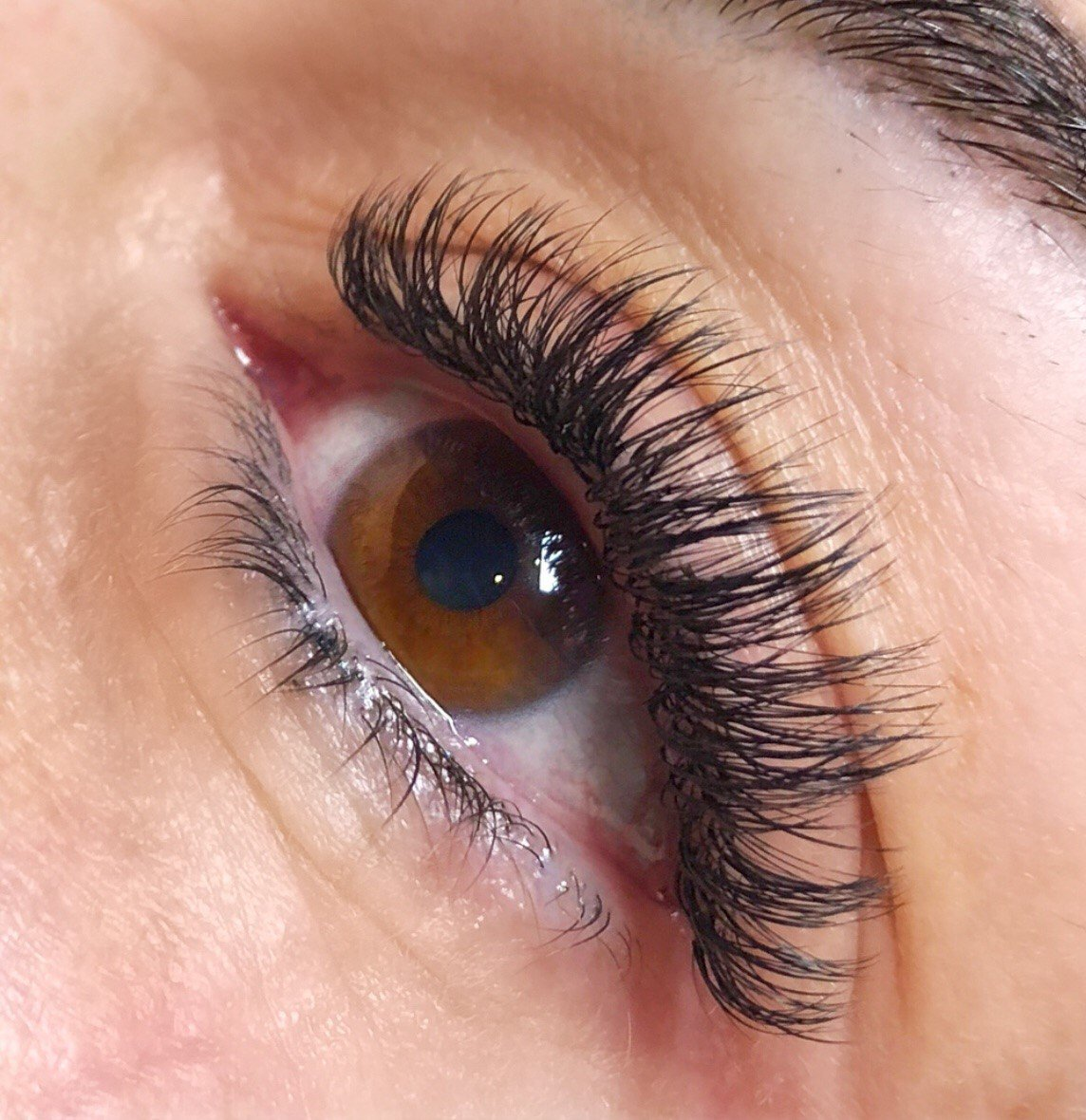 083a62ea357 ... set using Xtreme Lashes Faux Mink X-Wrap Lashes X40: 0.15 mm diameter  mixed with X50: 0.05 mm diameter Volumation fans   7-11 mm length # xtremelashes ...
