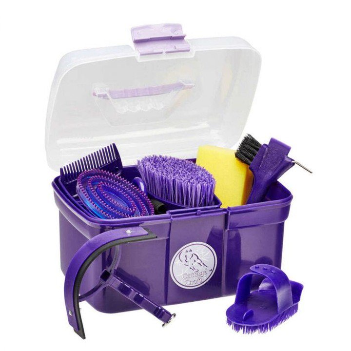 FREE POSTAGE Cottage Craft Horse//Pony Grooming Kit//Tote BAG Great Present