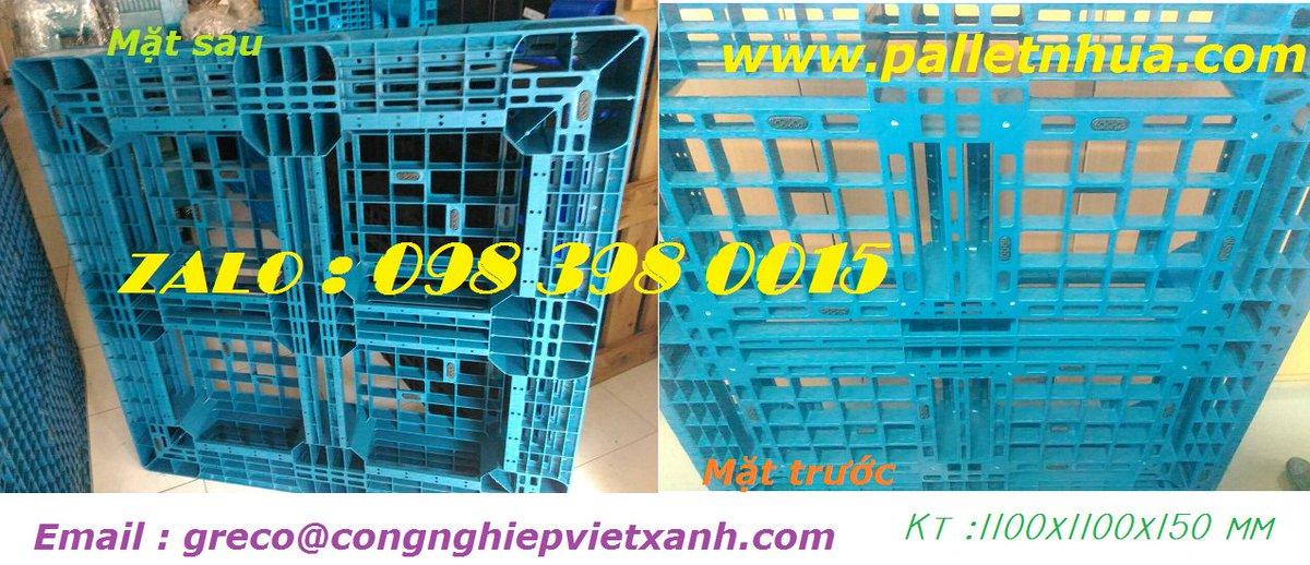 Pallet 1100 X 1100 X 150 Mm (hdpe)