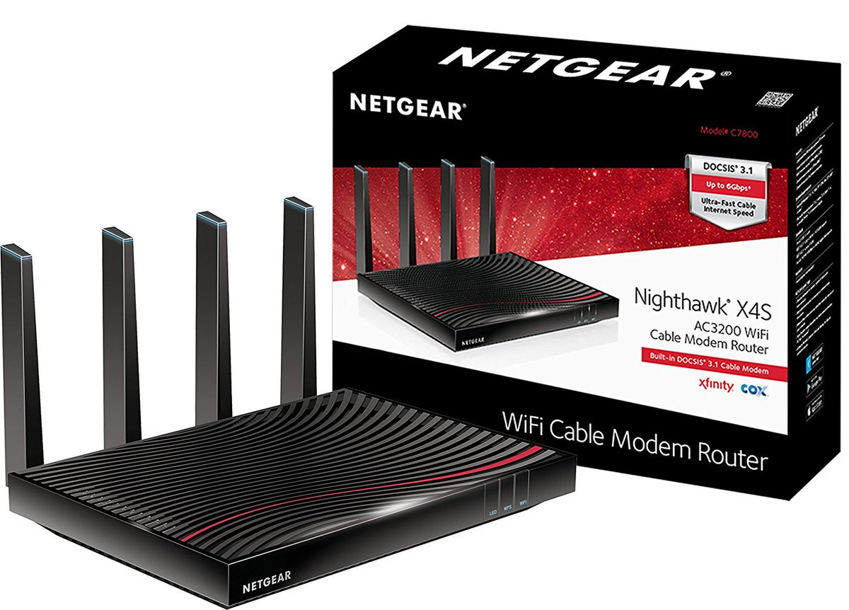 netgear cable modem router wifi hashtag on Twitter