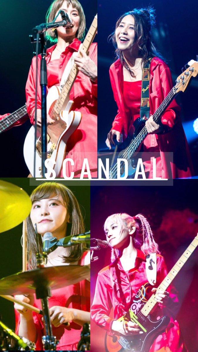 Yuka ついにhoneyのライブ画像が大量解禁ということで壁紙作りました Scandal Honey Scandal 良いなと思ったらrt