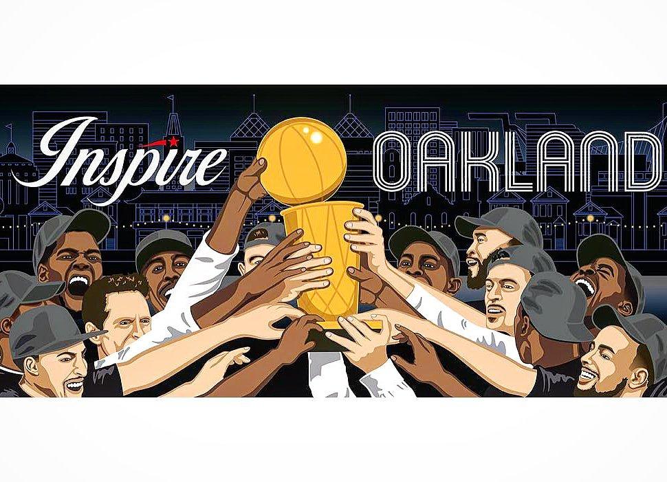 YAAAS Congratulations #Warriors! Western Conference Champions  #DubNation  #WarriorsGround #GoDubs | Original #artwork by #OreeOriginol for #OaklandDigital #InspireOakland 2018 - check out his #dope work at  http://www. bridgegood.com/oreeoriginol  &nbsp;  <br>http://pic.twitter.com/qJvYnNd4HI