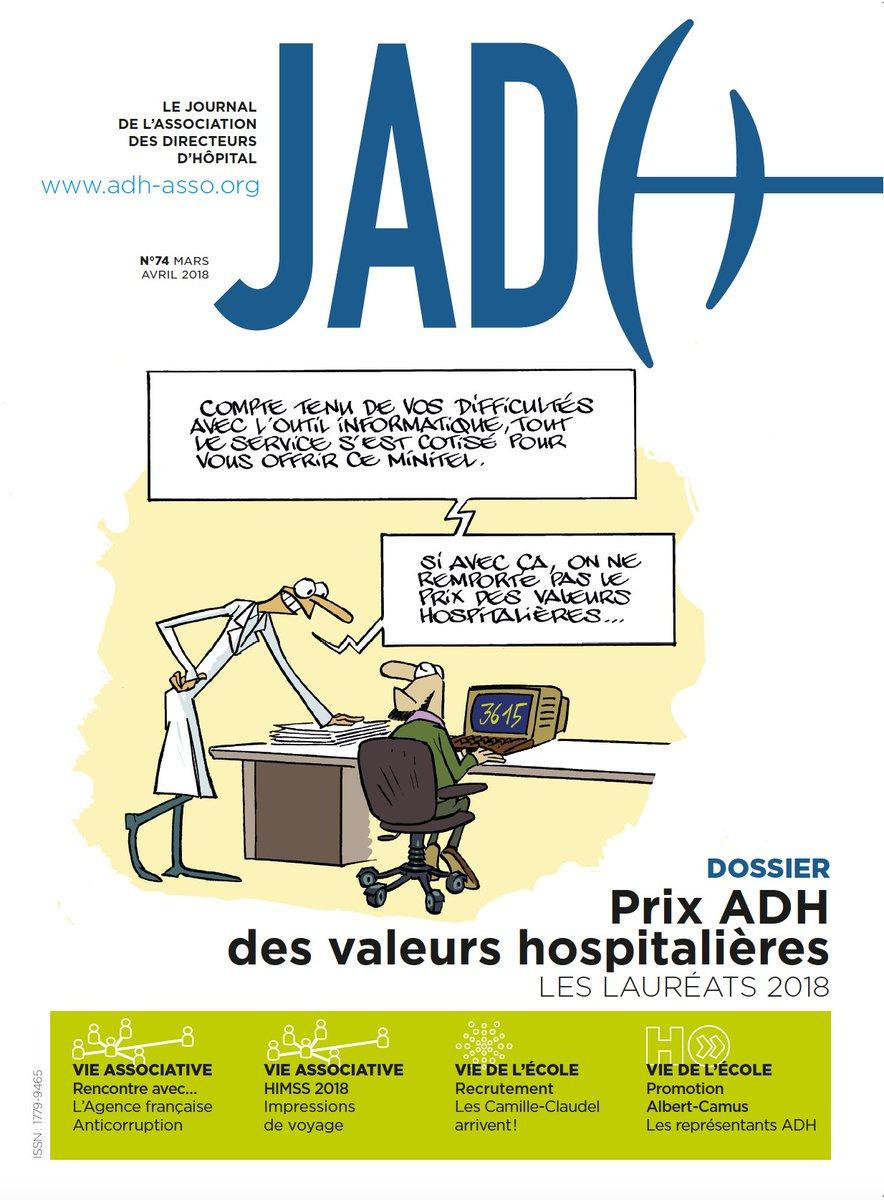 JOURNAL DE L'ASSOCIATION DES DIRECTEURS D'HOPITAL