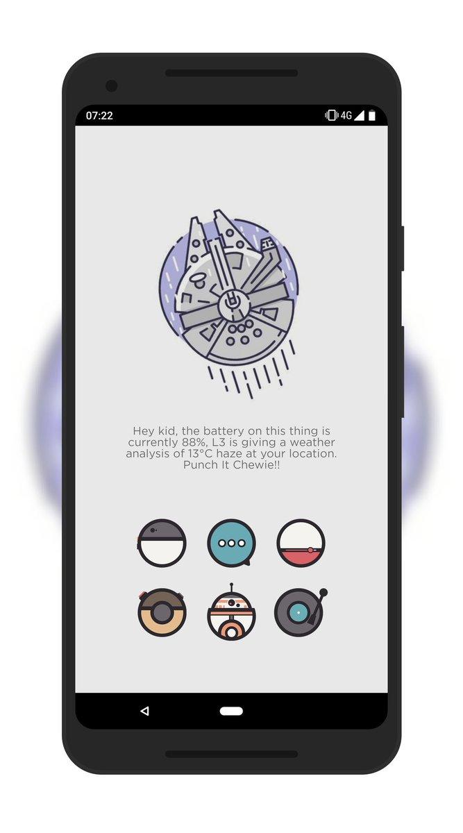Meanwhile in a galaxy far far away.... I&#39;m just fucking about with my phone at work  Icons as always are @paulebh0y creations #SoloAStarWarsStory  #milleniumfalcon #Chewbacca  #Android #Google #Pixel2XL #showyourhomescreen <br>http://pic.twitter.com/7AS22Oz3Ek