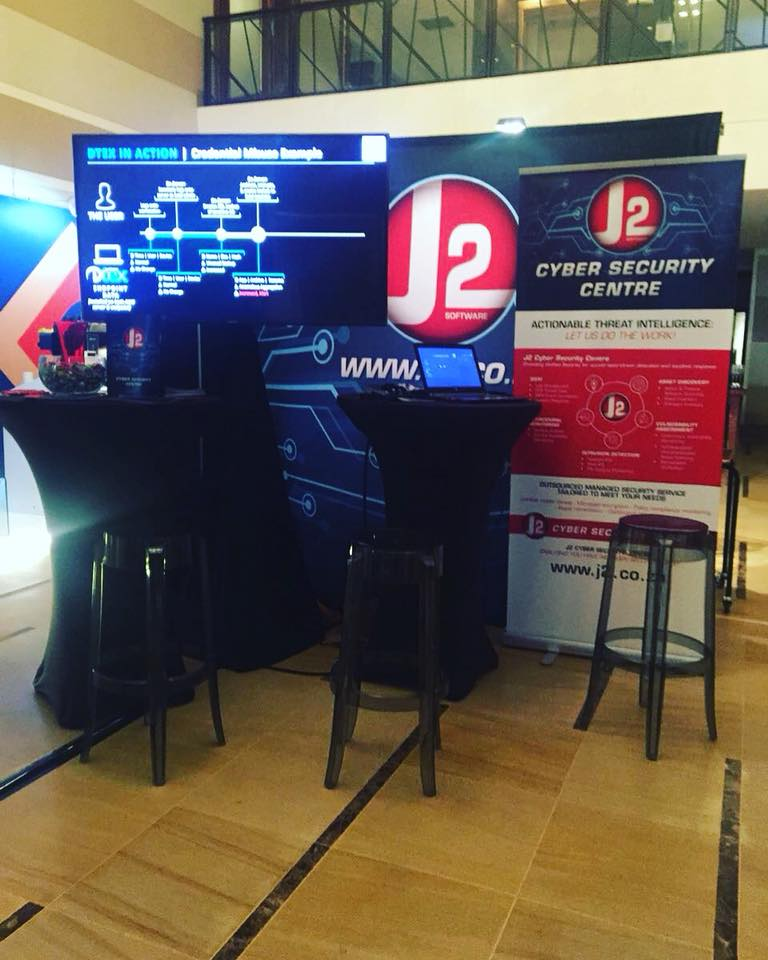 We are excited to be at the One and Only for the ITWeb Security Summit in Cape Town!  Join us for some chats and more insight into the Cyber Security World!  #j2software #j2CSC #infosec #cybersecurity #cybercrime #summit #capetown #prevention #help #awareness #letsgetreal<br>http://pic.twitter.com/tBUorLocFB