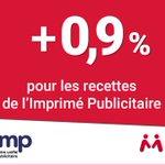 Image for the Tweet beginning: 📈En 2018, l'Imprimé Publicitaire a