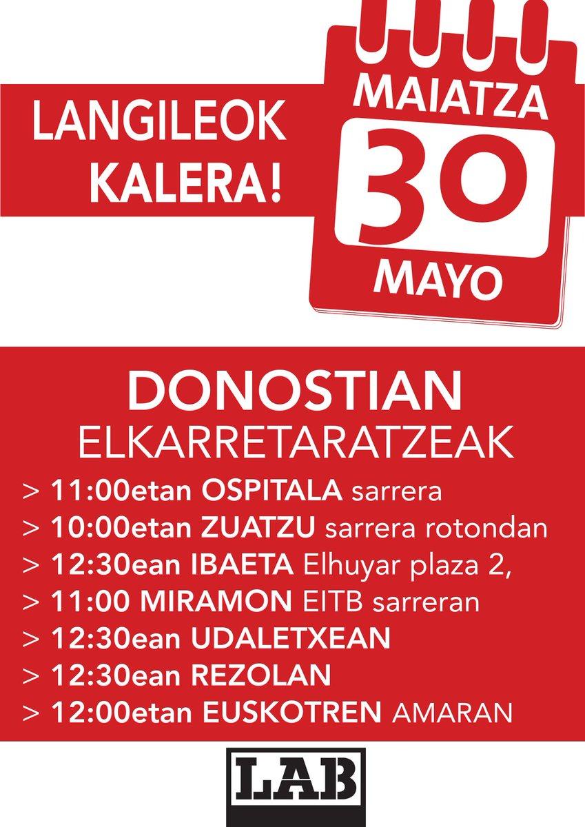 BIHAR #LangileokKALERA  📢📢📢  Espainiarekiko dependentzia=lan-hitzarmenen estatalizazioa=lan-baldintzen prekarizazioa  Hobeto bizitzeko hemen erabaki!  #LanDuina #BiziDuina #HerriDuina  @labzpf